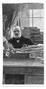 Grover Cleveland (1837-1908) Beach Sheet