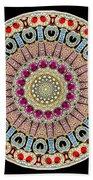 Kaleidoscope Colorful Jeweled Rhinestones Beach Towel