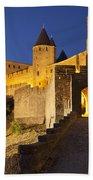Medieval Carcassonne Beach Sheet