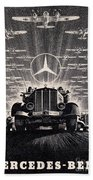 Mercedes - Benz Beach Towel