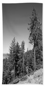 Mountainside Near Lake Tahoe Beach Towel
