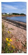 Prince Edward Island Coastline Beach Towel