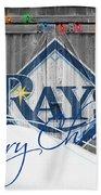 Tampa Bay Rays Beach Towel