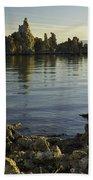 Tufa Formations Beach Towel