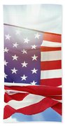American Flag 55 Beach Towel