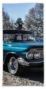 61 Chevrolet Biscayne Beach Towel