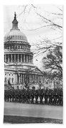 63rd Infantry Ready In Dc Beach Towel