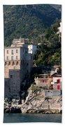 Views From The Amalfi Coast In Italy Beach Towel