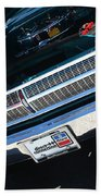 65 Plymouth Satellite Grill-8481 Beach Towel