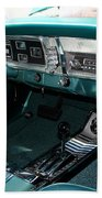 65 Plymouth Satellite Interior-8499 Beach Towel