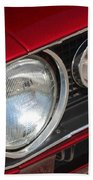 67 Camaro Ss Headlight-8724 Beach Towel
