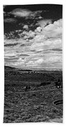 672 Sl Bw Tuzigoot 3  Beach Sheet