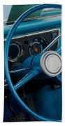 68 Chevy Truck Dash Beach Towel