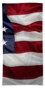 American Flag Beach Towel by Les Cunliffe