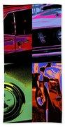 '69 Mustang Beach Towel by Gordon Dean II