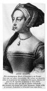 Anne Boleyn (1507-1536) Beach Towel