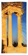 Apollo Sanctuary - Cyprus Beach Towel