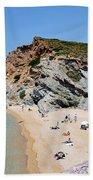 Beach In Legrena Beach Towel