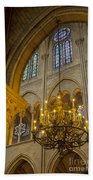 Cathedral Notre Dame Beach Towel