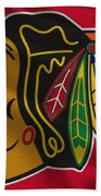 Chicago Blackhawks Uniform Beach Sheet