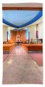 Church Of Saint Columba Beach Towel
