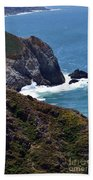 Devil's Slide Hike Beach Towel