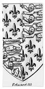 Edward IIi (1312-1377) Beach Towel