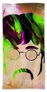 John Lennon Collection Beach Towel