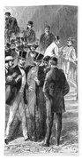Johnson Impeachment, 1868 Beach Towel
