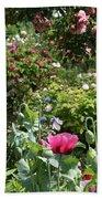 Monets Garden - Giverney - France Beach Towel