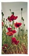 Poppy Meadow Beach Sheet
