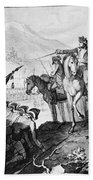 Saratoga: Surrender, 1777 Beach Towel