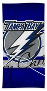 Tampa Bay Lightning Beach Towel