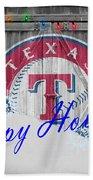 Texas Rangers Beach Towel