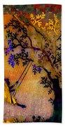 Tree Wall Art Beach Towel