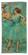Two Dancers Beach Towel