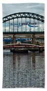 Tyne Bridge Beach Towel