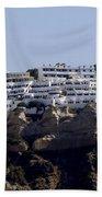 Views From Santorini Greece Beach Towel