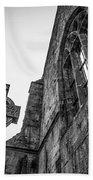 700 Years Of Irish History At Quin Abbey Beach Towel
