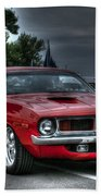 72 Cuda Beach Towel