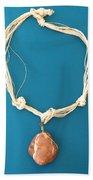 Aphrodite Urania Necklace Beach Towel