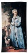 Catherine II (1729-1796) Beach Towel
