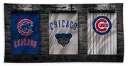 Chicago Cubs Beach Sheet