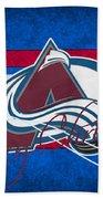 Colorado Avalanche Beach Towel