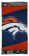 Denver Broncos Beach Sheet