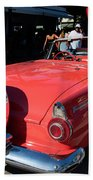 Ford Thunderbird Beach Towel