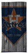 Houston Astros Beach Towel