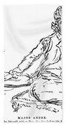 John Andre (1751-1780) Beach Towel