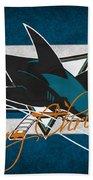 San Jose Sharks Beach Towel