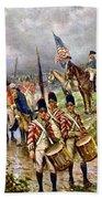 Saratoga: Surrender, 1777 Beach Towel